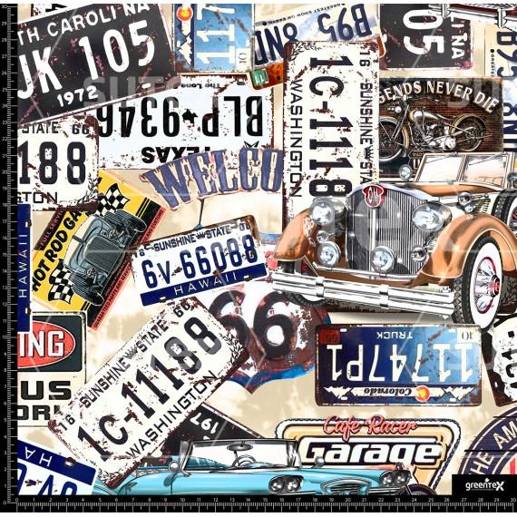 106077 Vintage car