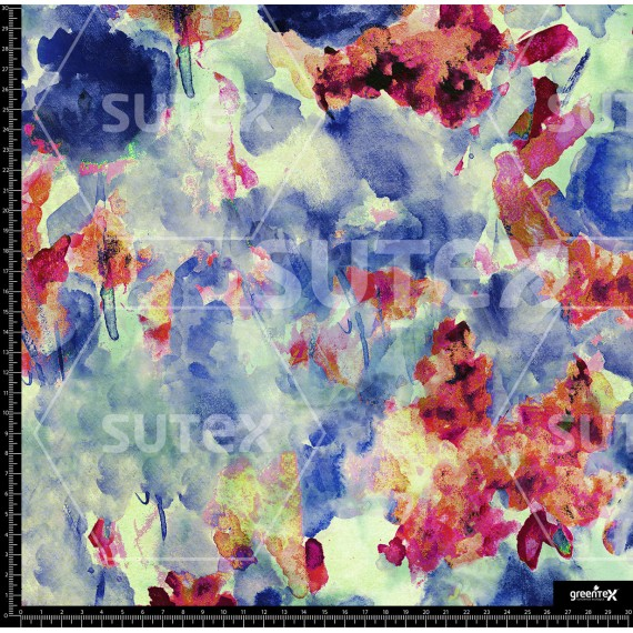 114925 Abstract Flowers R
